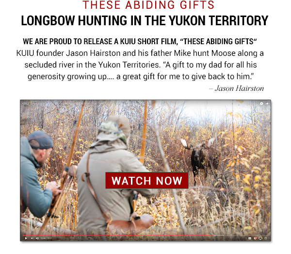 These Abiding Gifts - Longbow Hunting The Yukon Territory