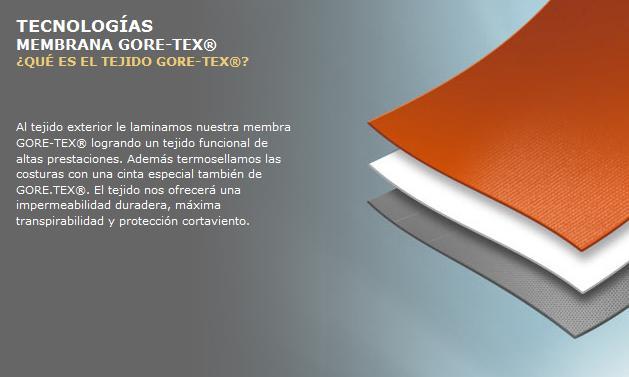 Qué es el Gore - Tex y como funciona  - Material de Caza - Tuslances ... c9ccf99f2fa0b