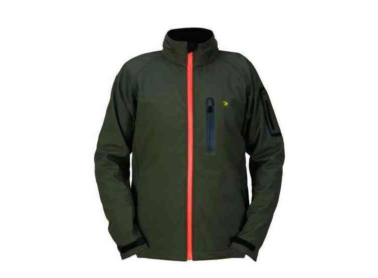 chaqueta softshell caza